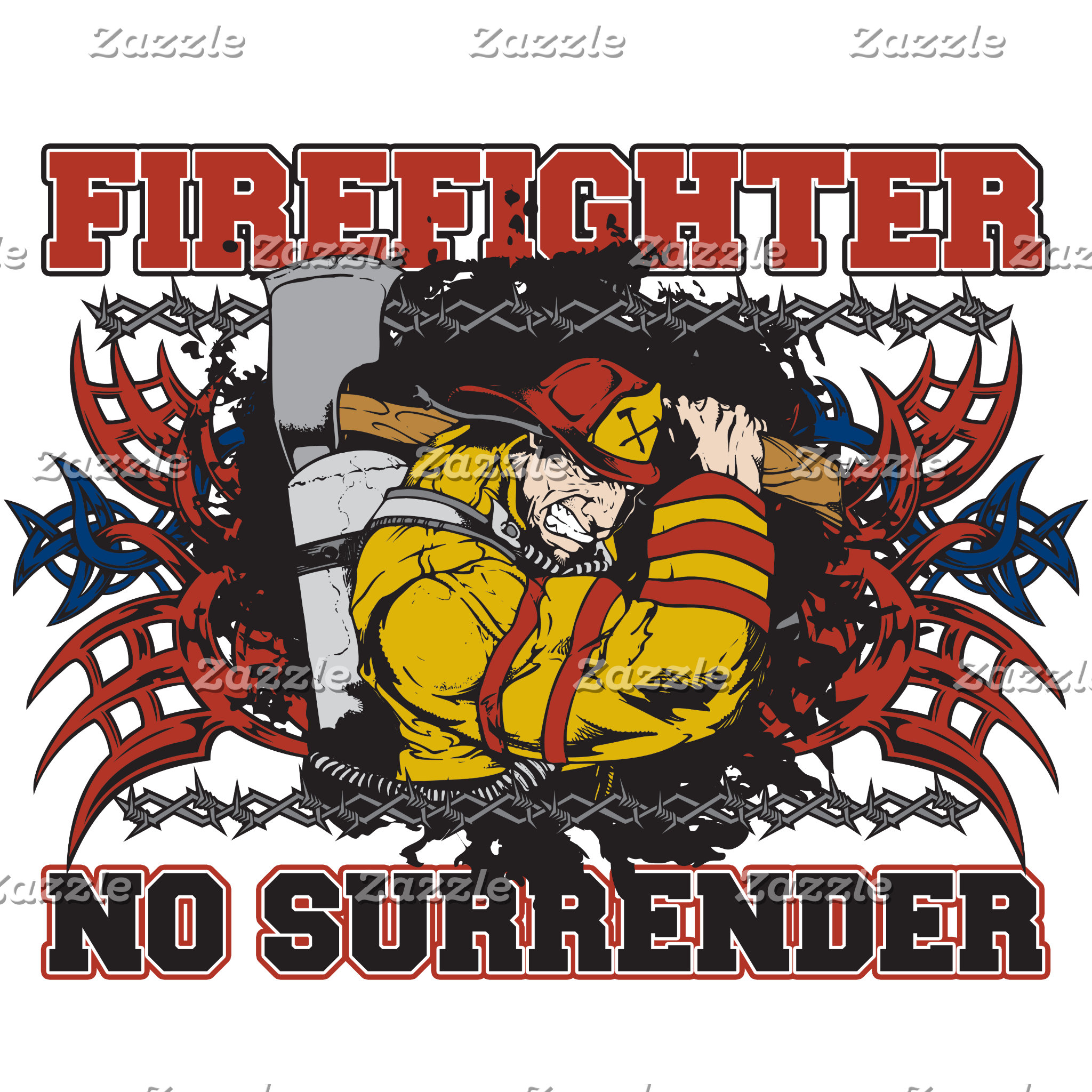 Firefighter No Surrender