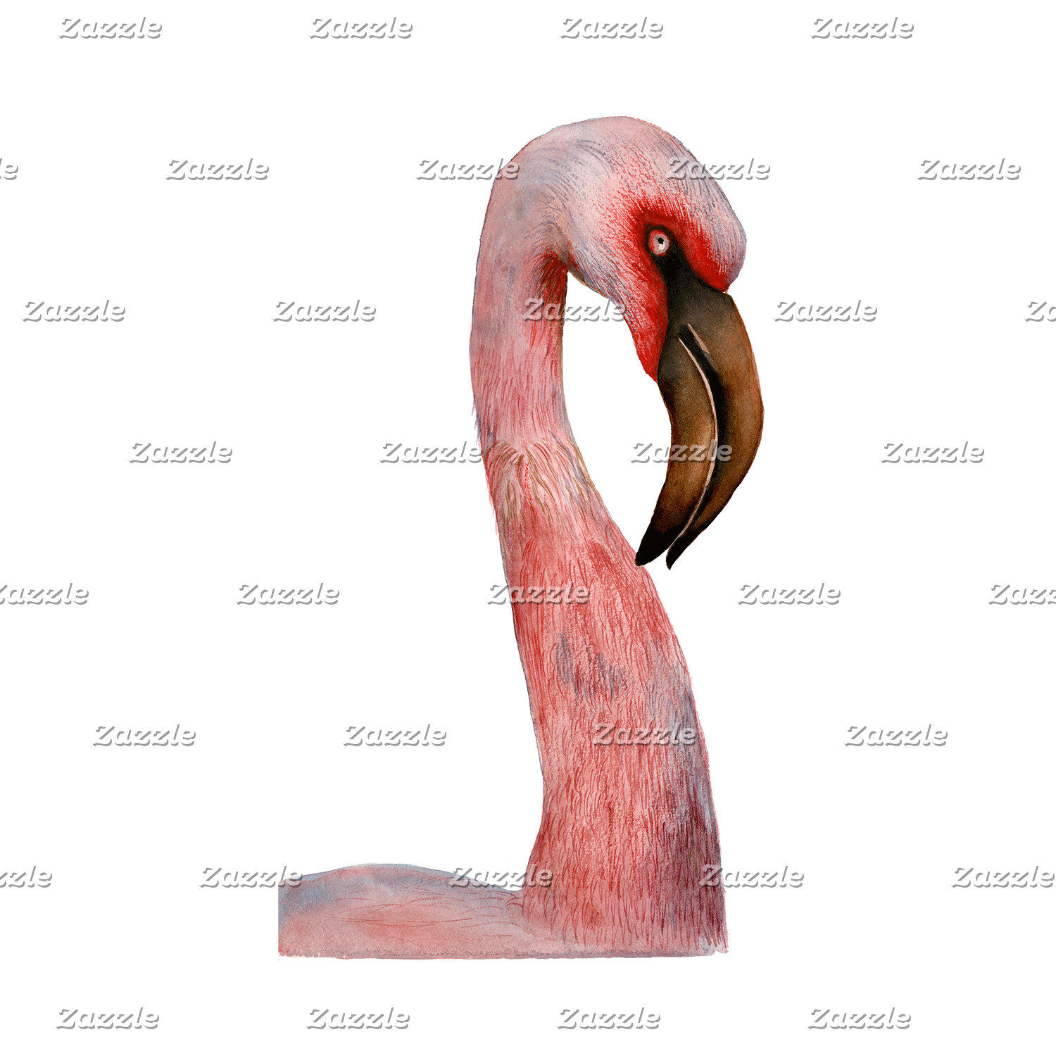 Flamingo Bird Artwork