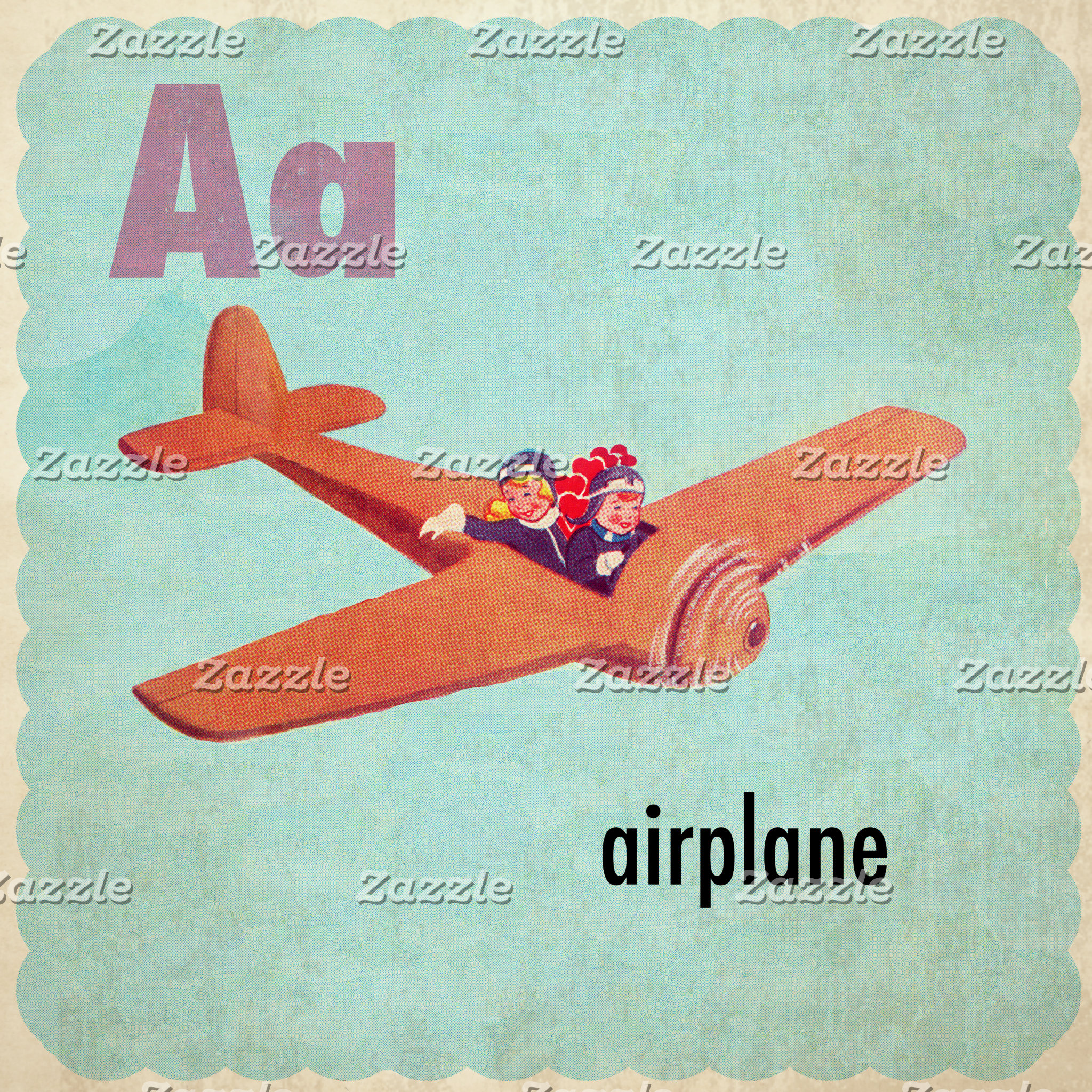 A is for Airplane