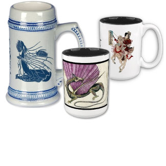 Cups, Mugs, & Steins