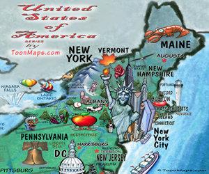 USA Fun Map