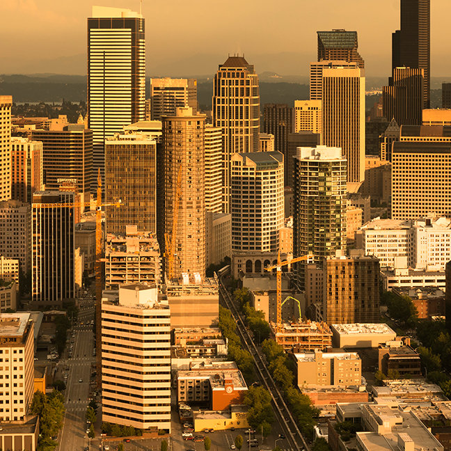 Downtown Seattle, Washington, USA