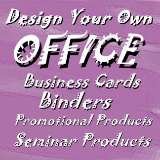 Design Your Own Office Supplies