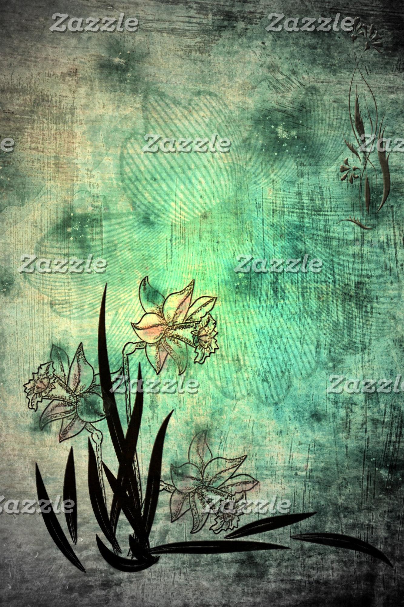 Digital Flower Art