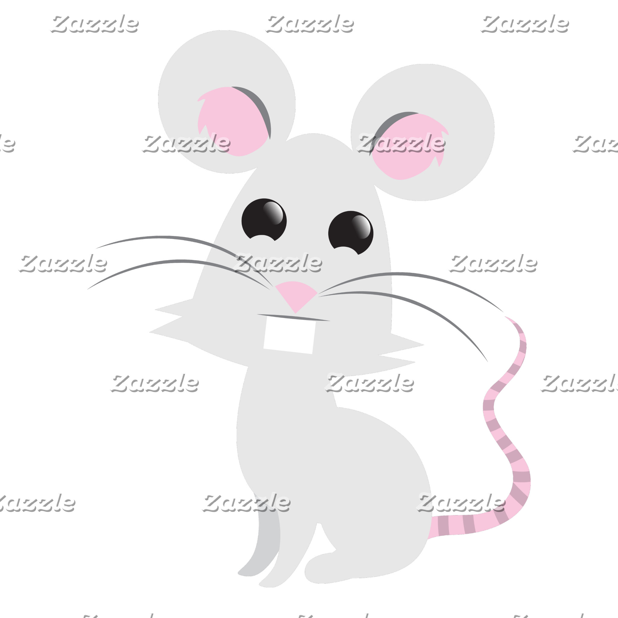 Cute Grey Mouse