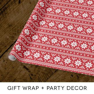 GIFT WRAP + PARTY