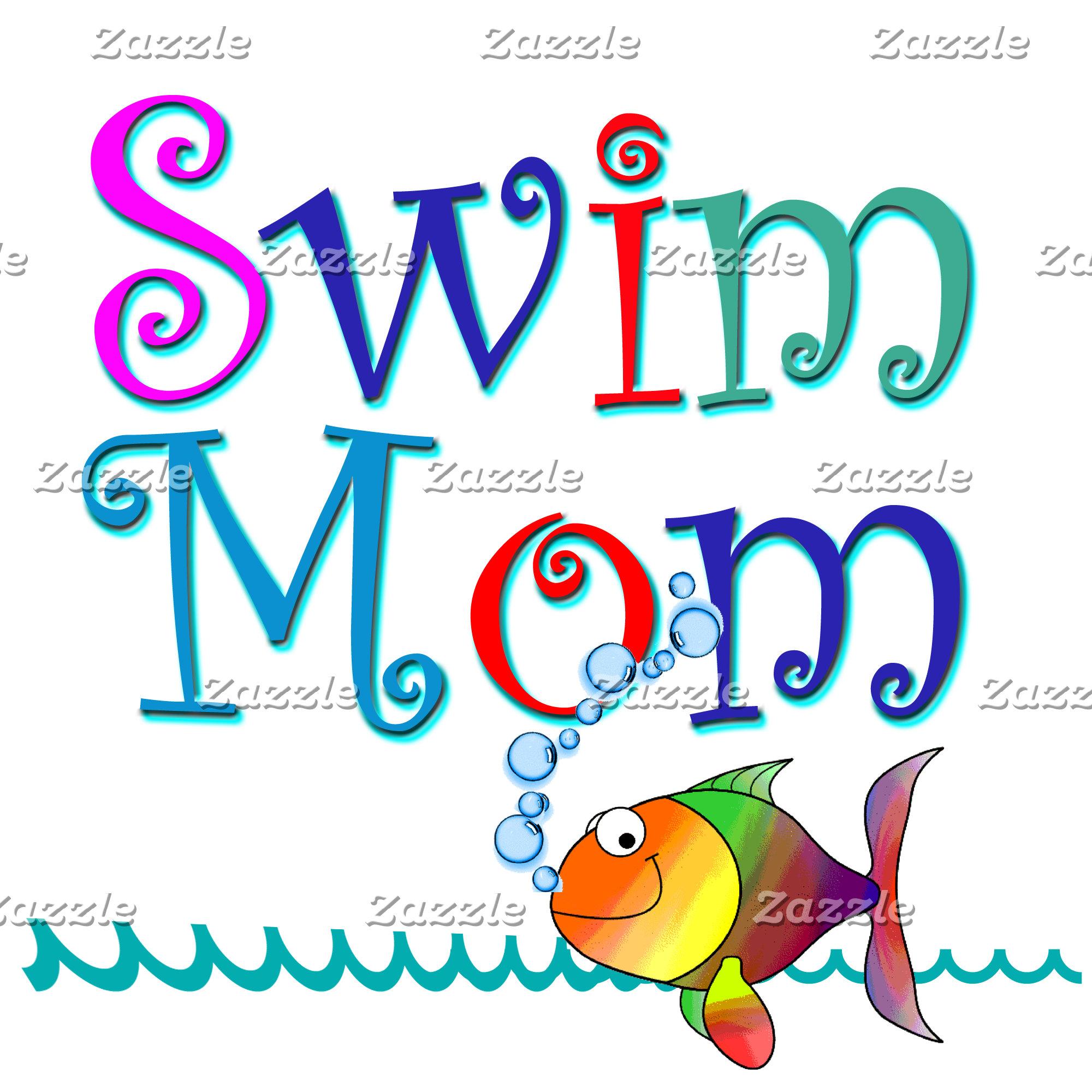 Swim mom