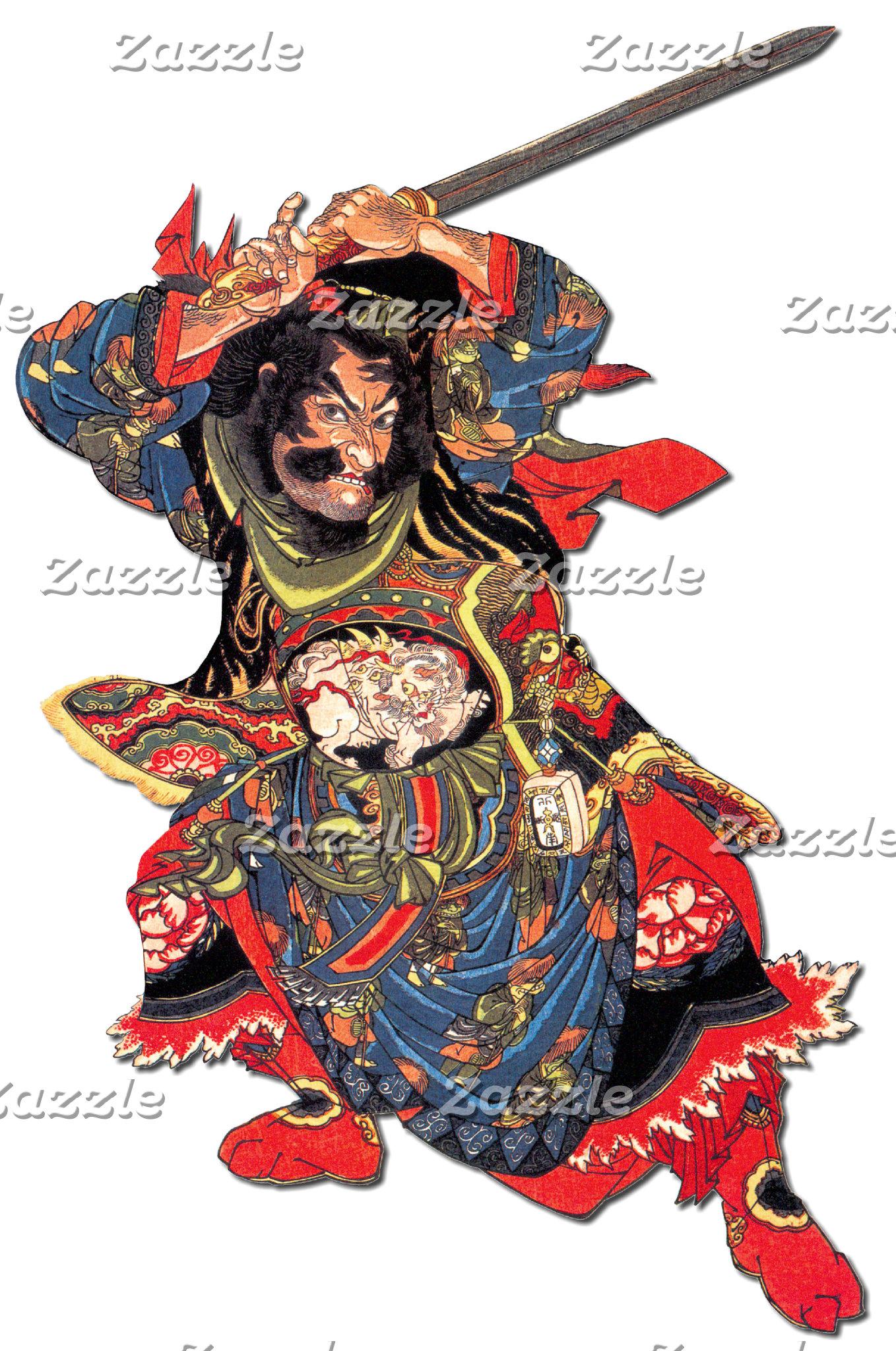Japanese Samurai art