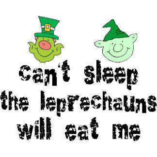 Funny Leprechaun T-Shirt Gift Cards