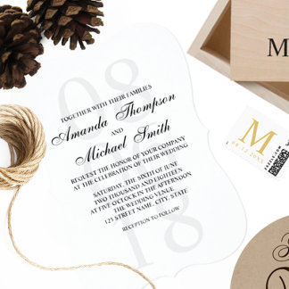 Invitations and Party Supplies