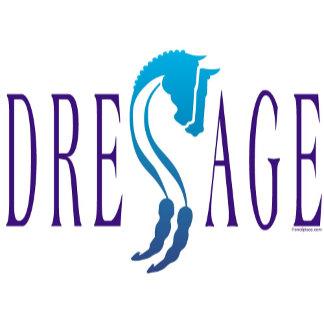 Dressage Horse Art