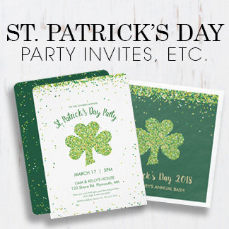 Saint Patrick's Day Party Invites & Supplies
