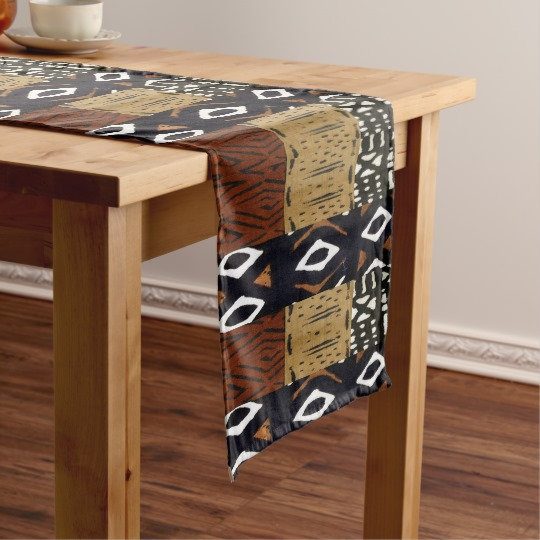 African Style Tablecloths, Table Runners
