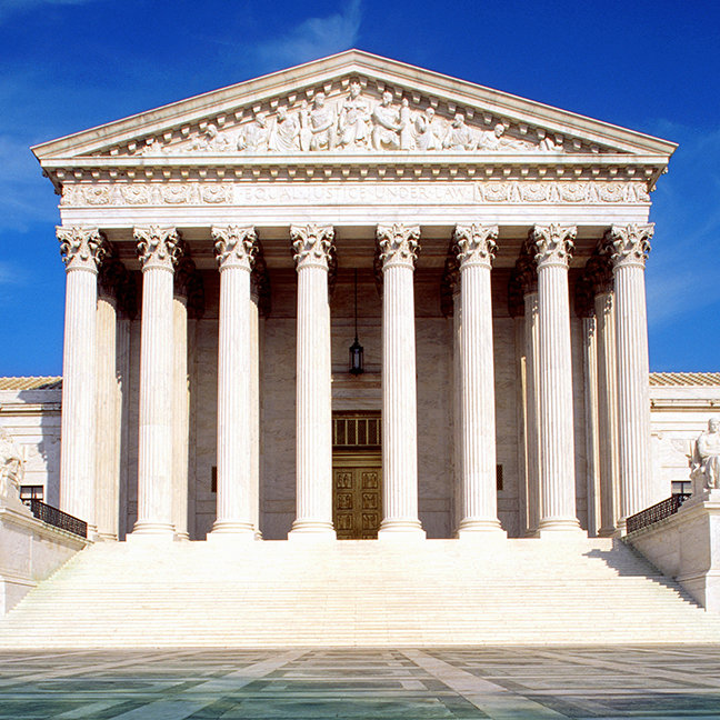 US Supreme Court building, Washington DC, USA