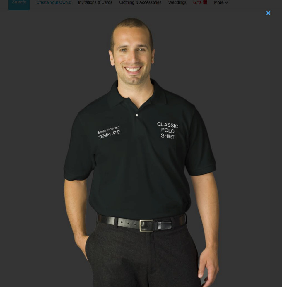 MEN'S EMBROIDERED T-SHIRTS