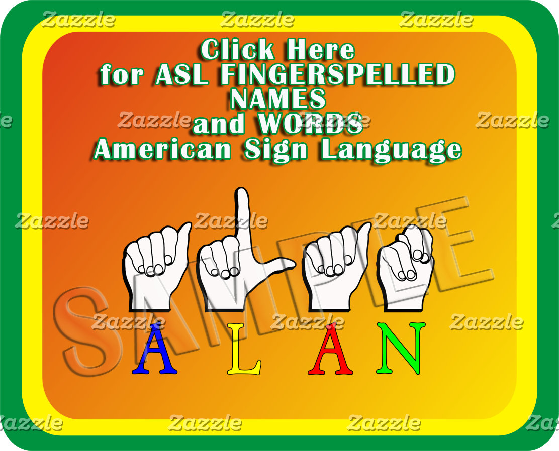 00 FINGERSPELLED  ASL NAMES, TITLES, ANIMALS..MORE