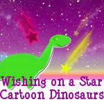Wishing on a Star Cartoon Dinosaurs