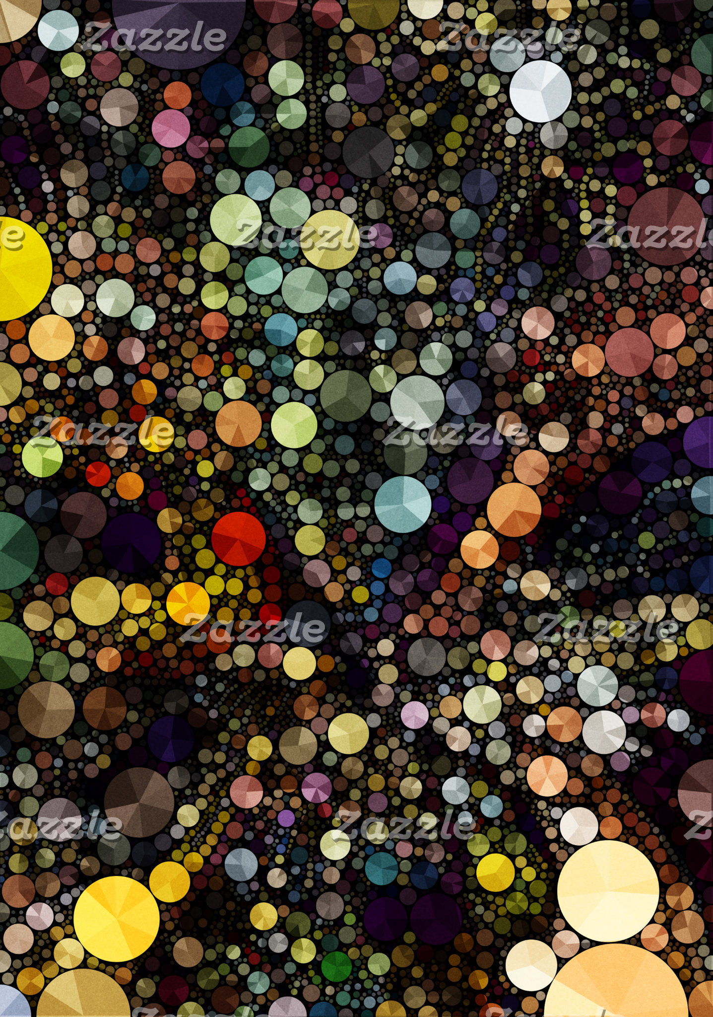 Geometric Patterns | Multicolor Circles I