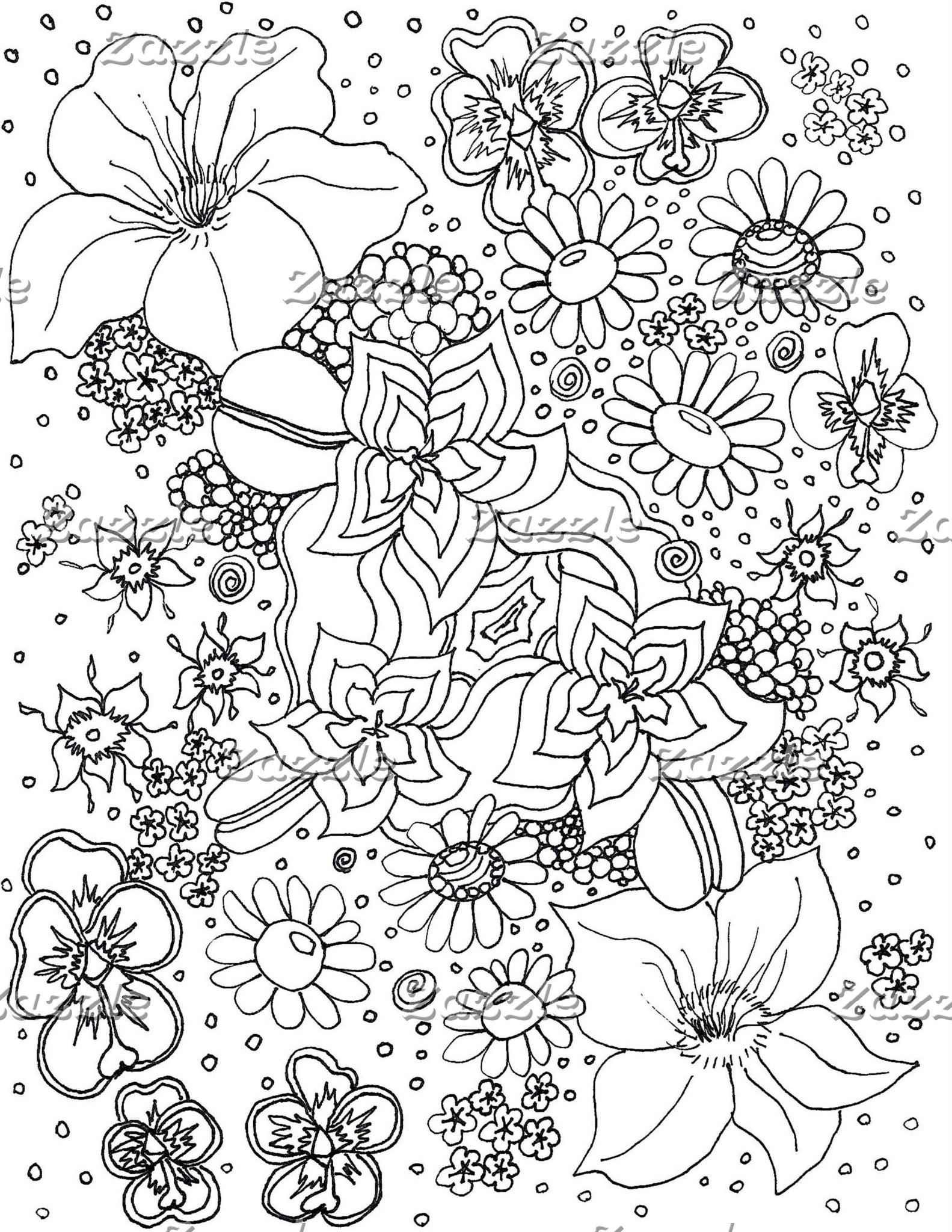 Conglomeration of Flowers