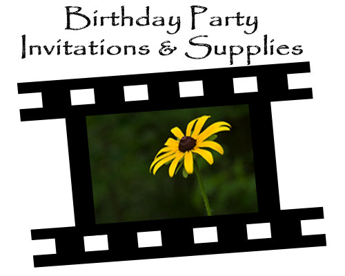 Birthday Party Invitations & Supplies