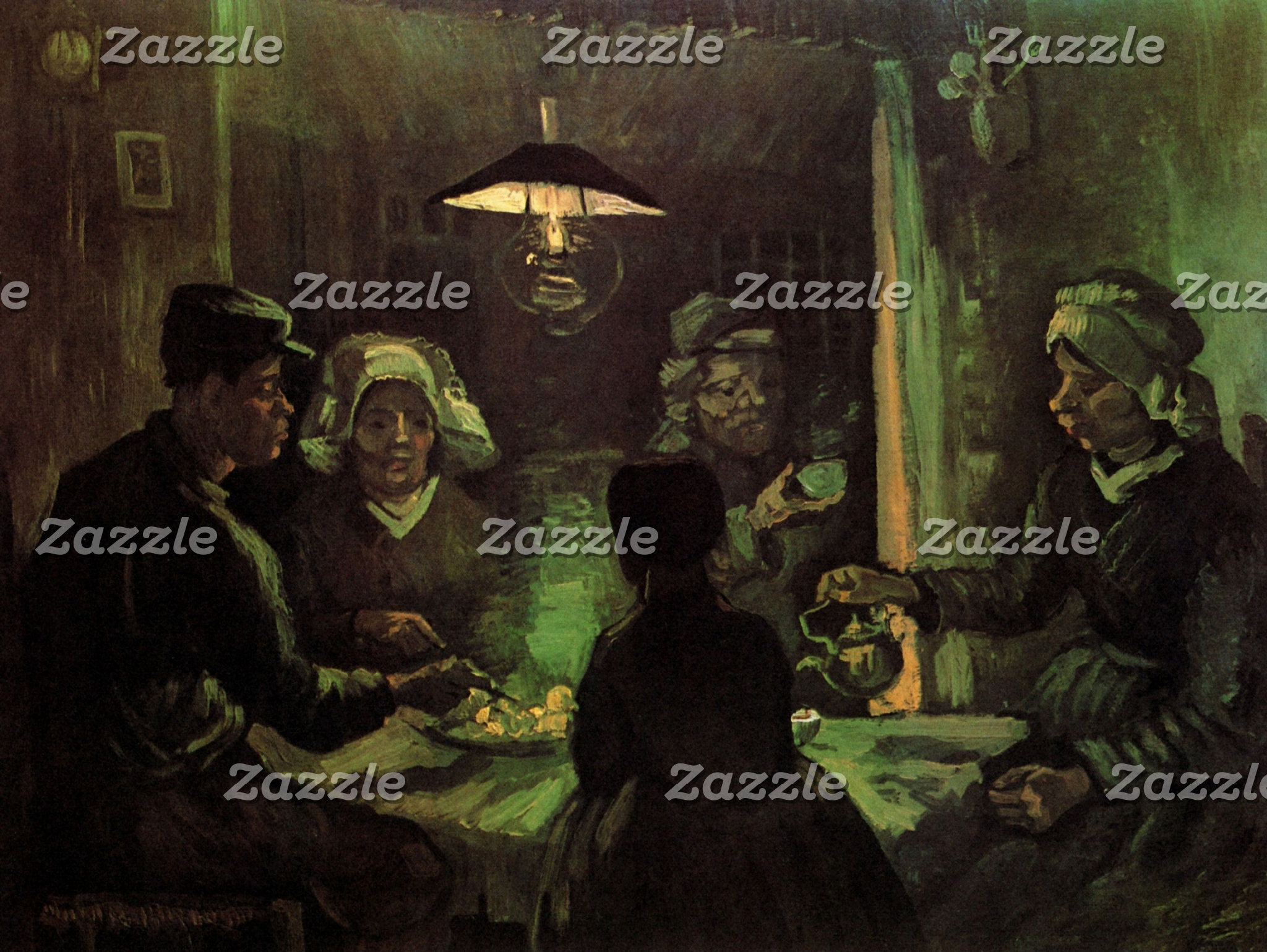 People & Daily Life Scenes by Vincent van Gogh
