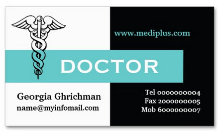 Doctor's Business cards