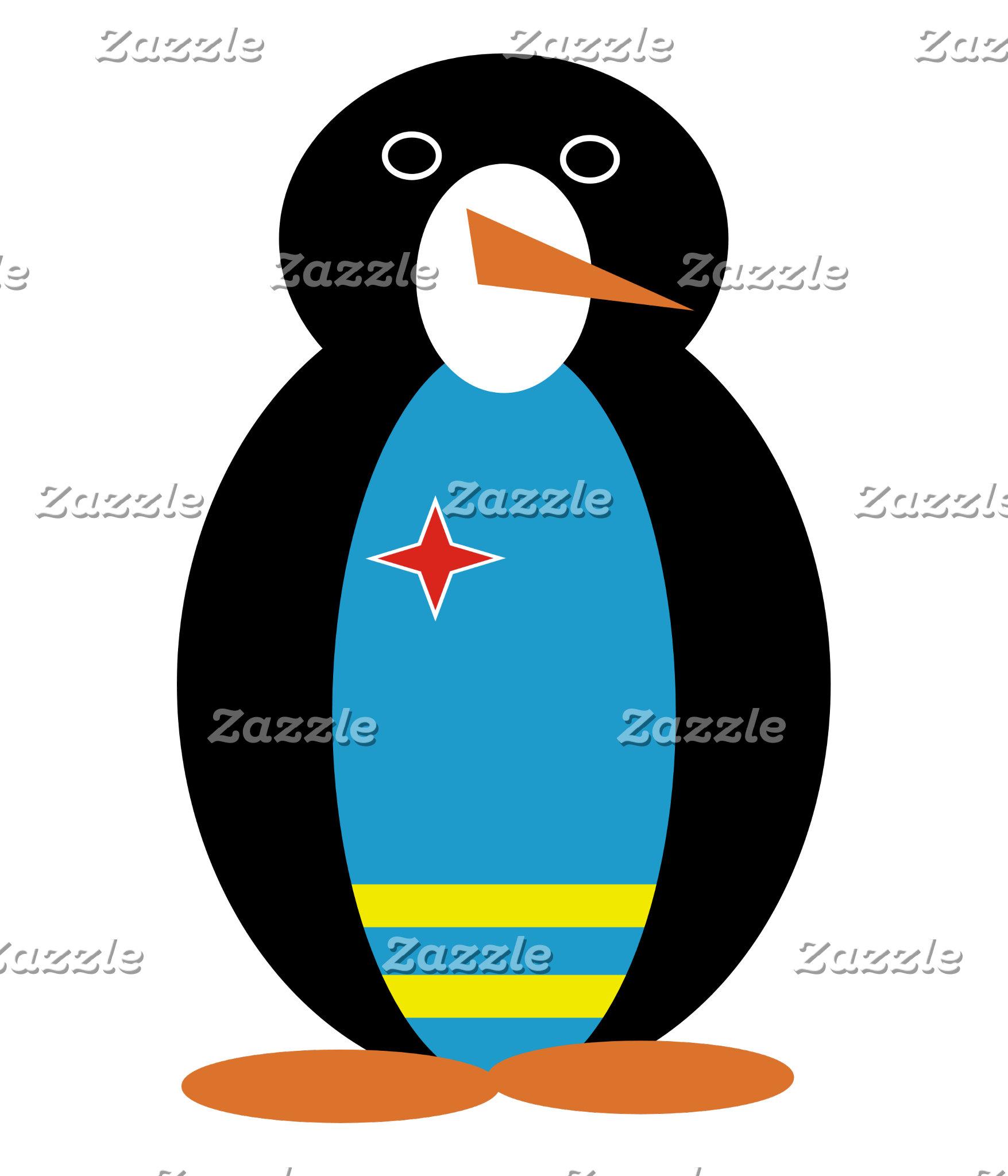 Aruban Holiday Mr. Penguin