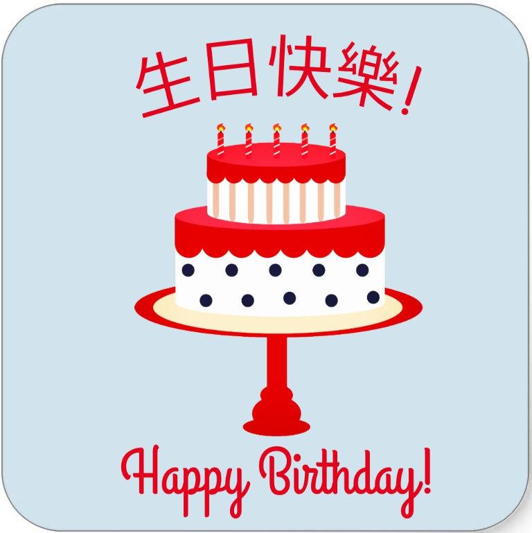 Happy Birthday and Feliz cumpleaños!