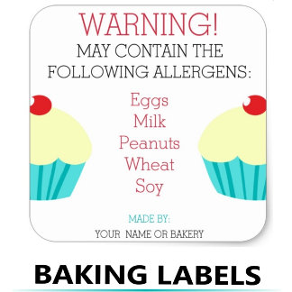 Baking Labels