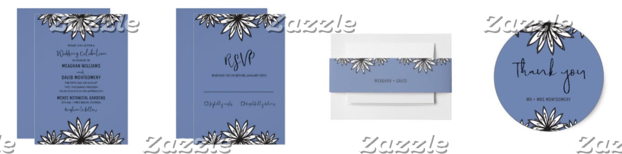 Periwinkle Blue Wedding