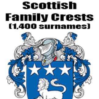 Scottish Family Crests