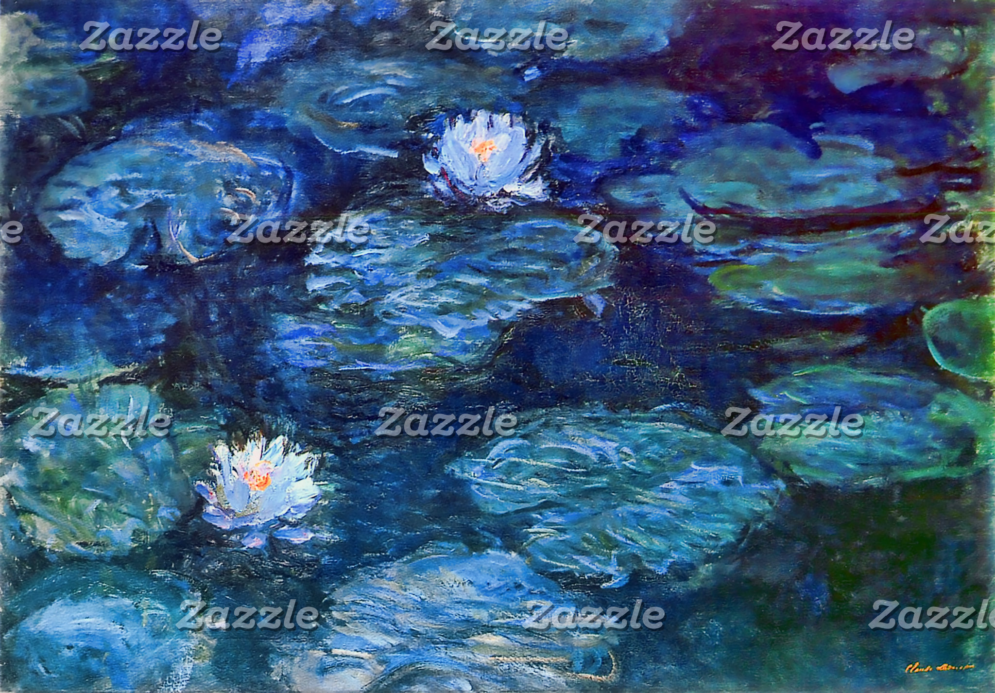 Fine Art Water Lily Puzzles