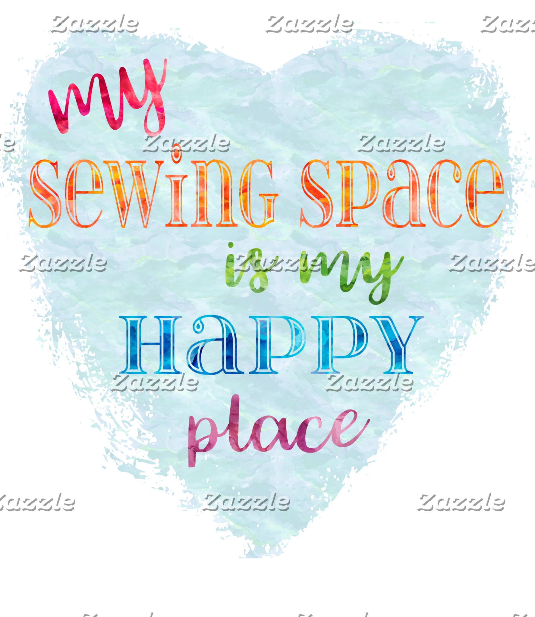 My Sewing Space is my Happy Place