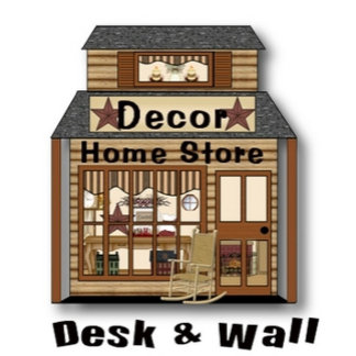 Desk and Wall