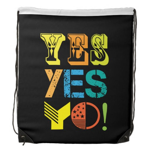 funky quotes bags