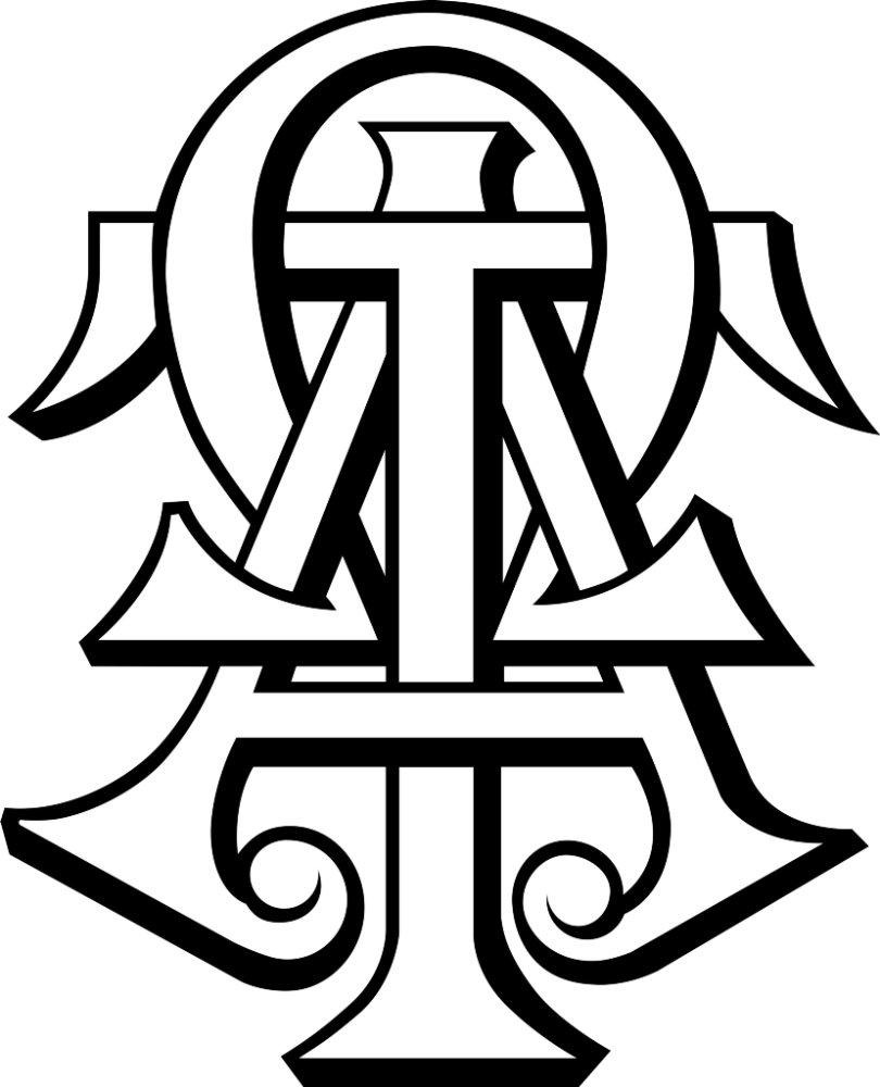 Alpha Tau Omega Interlocked Letters