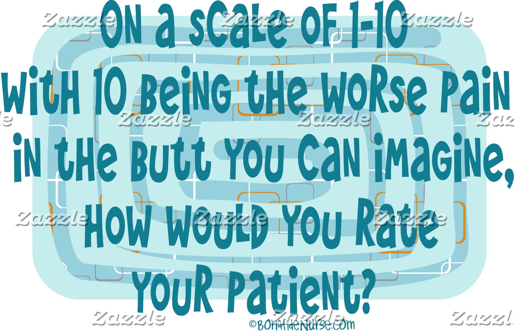 How Nurses rate Patients