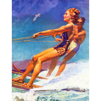 Water Skier by McClelland Barclay