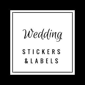 Wedding Stickers / Labels