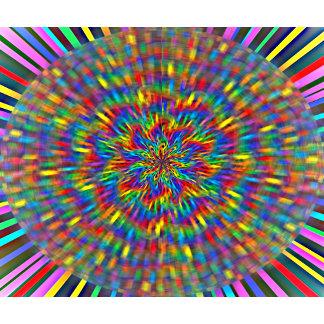 A Floral Tie Dye