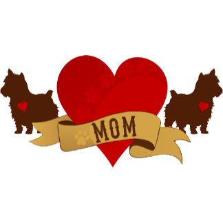 Dog Mom Tattoo-style