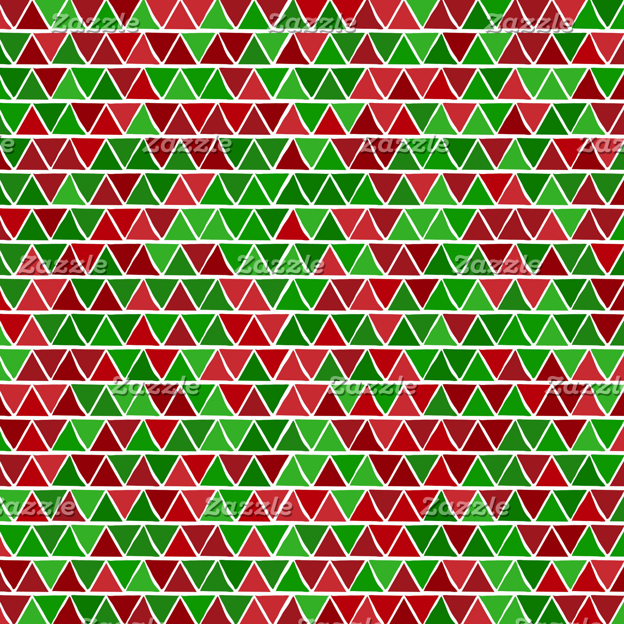 Green red triangle