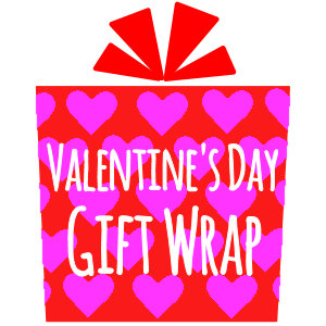 Valentine's Day Gift Wrap