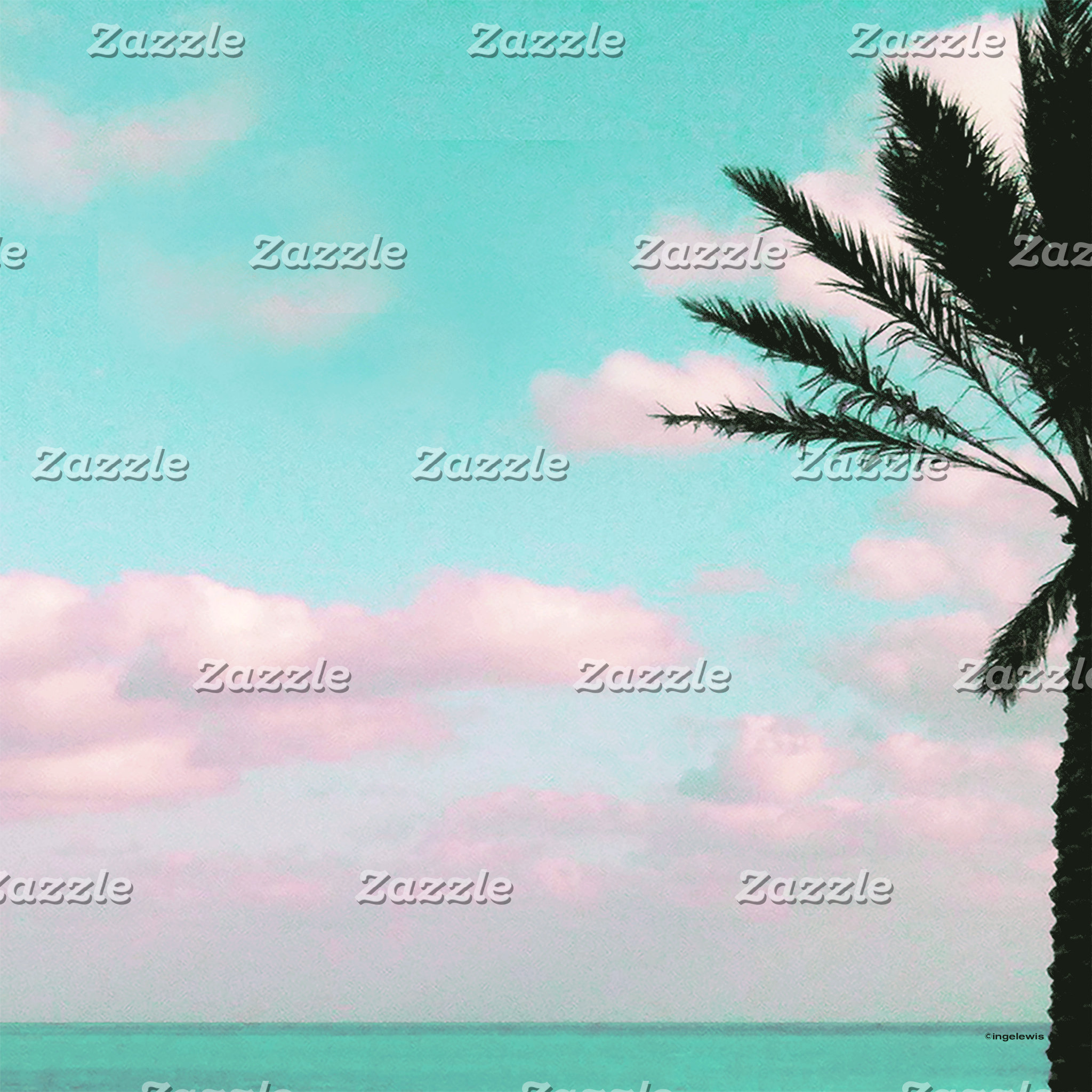 Tropical Beach, Ocean View Landscape