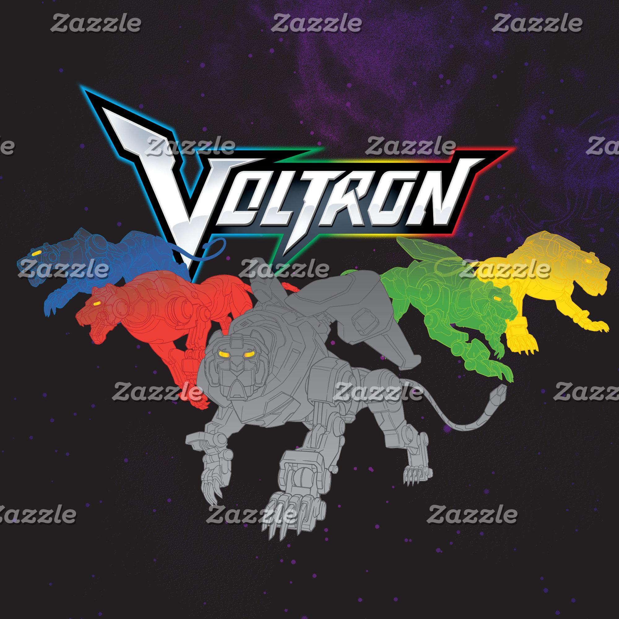 Voltron   Lions Charging