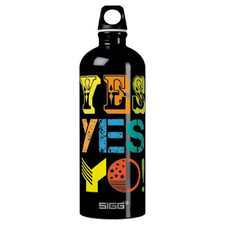 funky quotes sigg water bottles