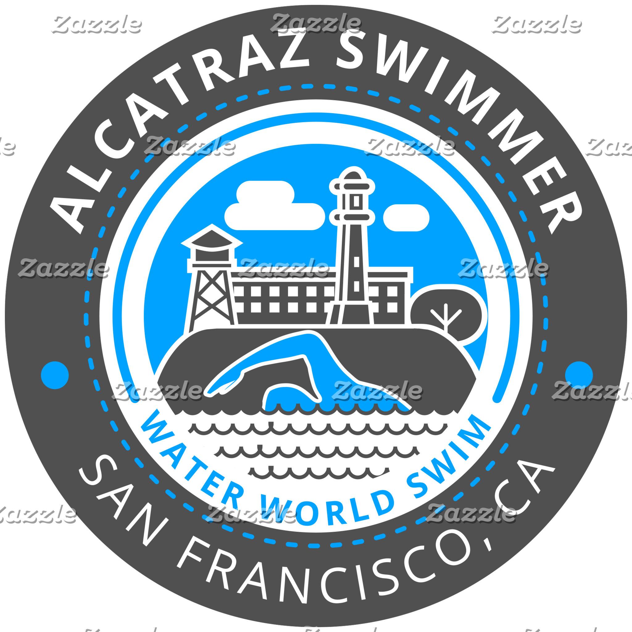 Alcatraz Swimmer