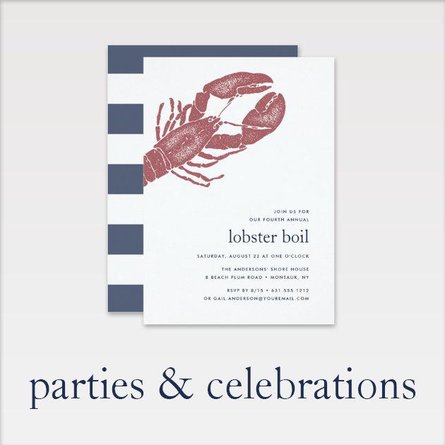 Parties & Celebrations