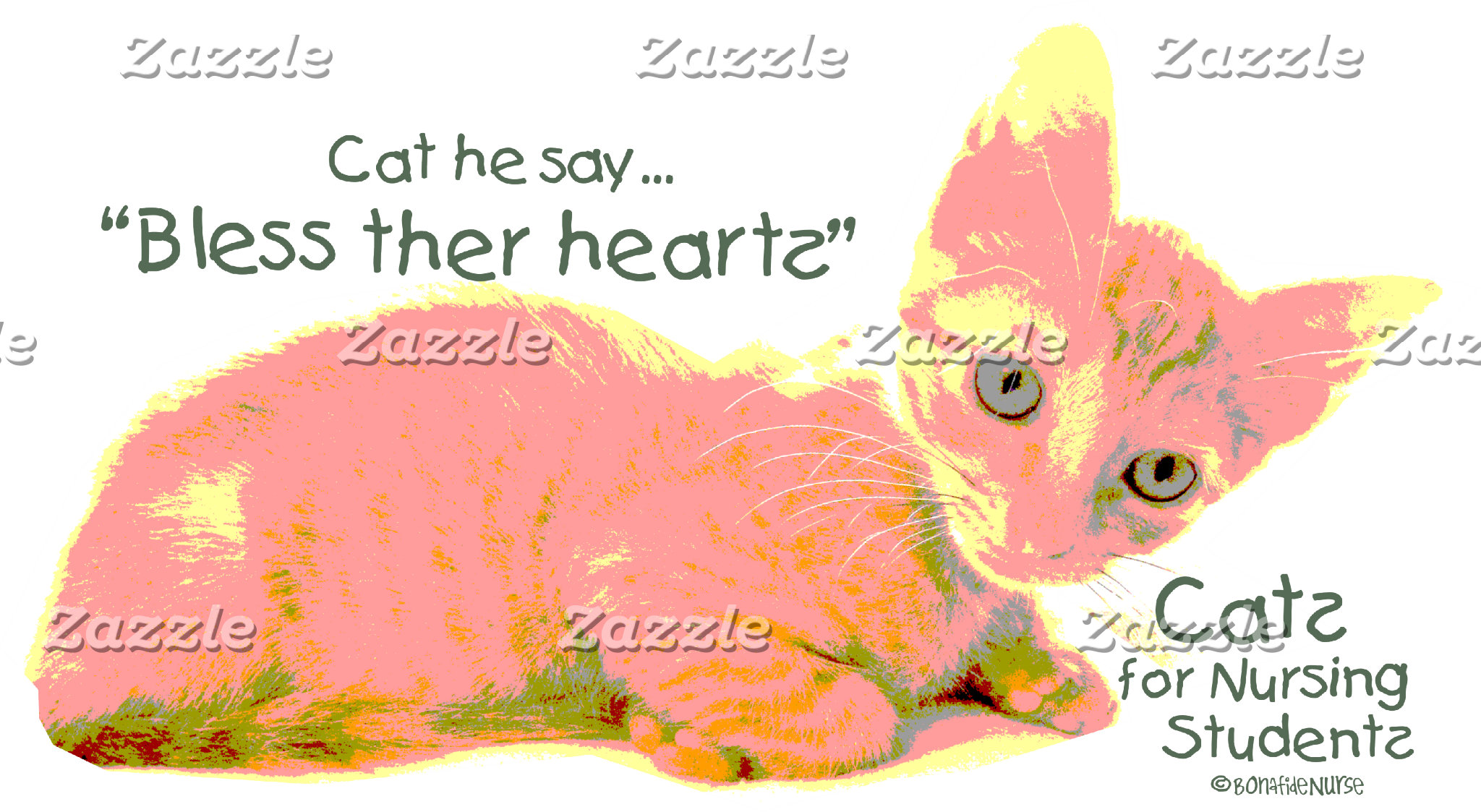 Cats for Nursing Students - Cat he Say
