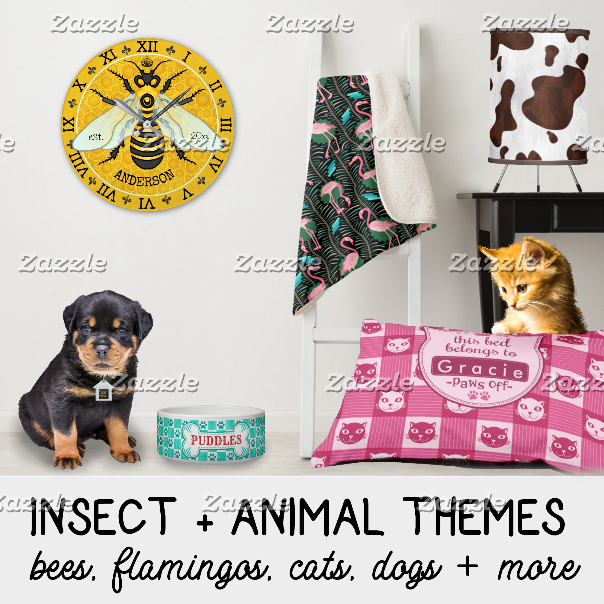 INSECT + ANIMAL THEMES